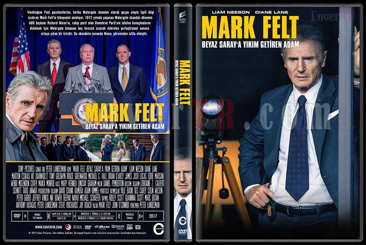 Mark Felt: The Man Who Brought Down the White House (Mark Felt: Beyaz Saray'a Yıkım Getiren Adam) - Custom Dvd Cover - Türkçe [2017]-1jpg