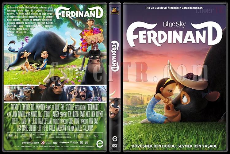 Ferdinand - Custom Dvd Cover - Türkçe [2017]-1jpg