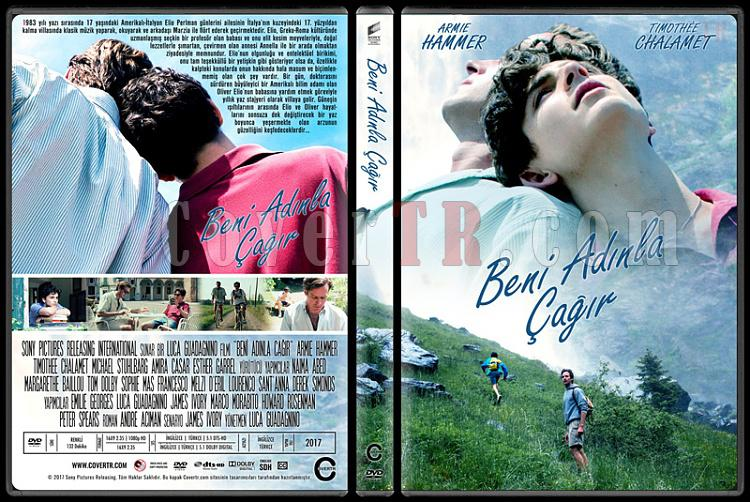 Call Me by Your Name (Beni Adınla Çağır) - Custom Dvd Cover - Türkçe [2017]-1jpg