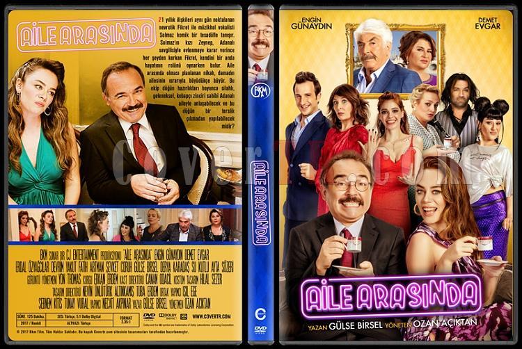 Aile Arasında - Custom Dvd Cover - Türkçe [2017]-1jpg