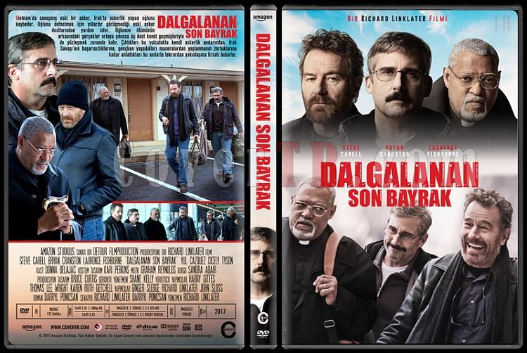 Last Flag Flying (Dalgalanan Son Bayrak) - Custom Dvd Cover - Türkçe [2017]-1jpg
