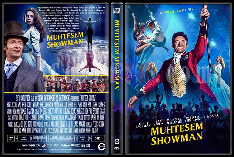 The Greatest Showman (Muhteşem Showman) - Custom Dvd Cover - Türkçe [2017]-1jpg