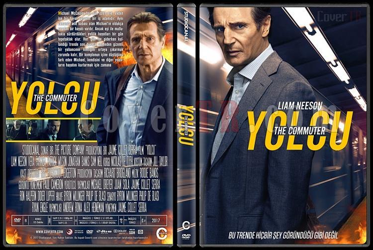 The Commuter (Yolcu) - Custom Dvd Cover - Türkçe [2017]-1jpg