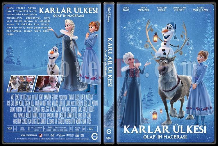 Olaf's Frozen Adventure (Karlar Ülkesi: Olaf'ın Macerası) - Custom Dvd Cover - Türkçe [2017]-1jpg
