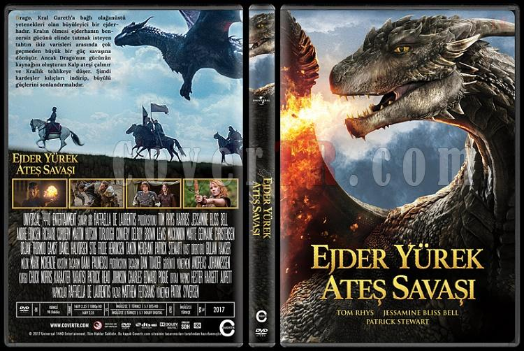 Dragonheart: Battle for the Heartfire (Ejder Yürek: Ateş Savaşı) - Custom Dvd Cover - Türkçe [2017]-1jpg