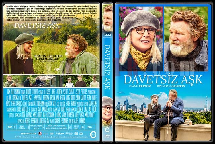 Hampstead (Davetsiz Aşk) - Custom Dvd Cover - Türkçe [2017]-1jpg