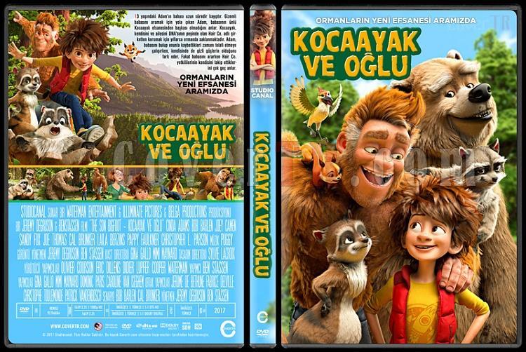 The Son of Bigfoot (Kocaayak ve Oğlu) - Custom Dvd Cover - Türkçe [2017]-1jpg