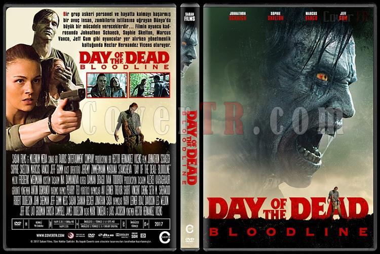 Day of the Dead: Bloodline - Custom Dvd Cover - Türkçe [2018]-1jpg