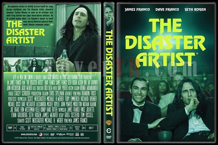 The Disaster Artist - Custom Dvd Cover - Türkçe [2017]-1jpg