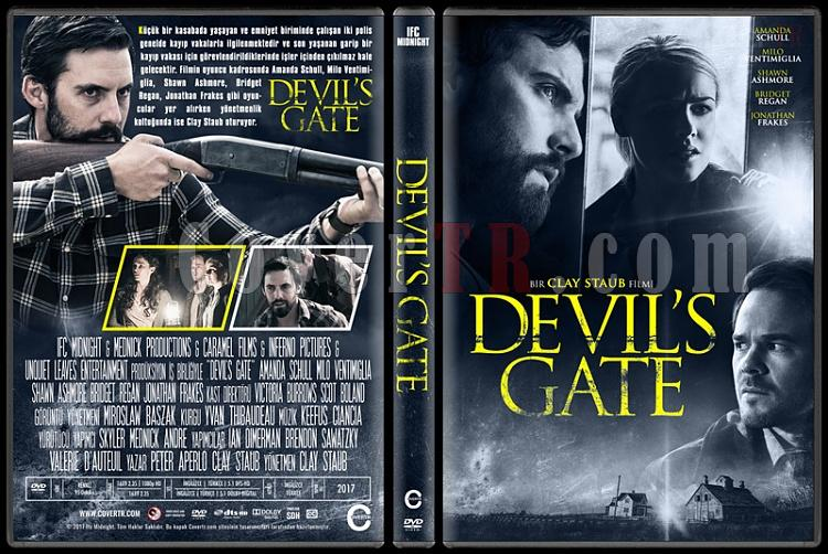 Devil's Gate - Custom Dvd Cover - Türkçe [2017]-1jpg