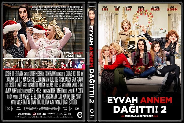 Bad Moms Christmas Dvd Release Date.A Bad Moms Christmas Eyvah Annem Dagitti 2 Custom Dvd