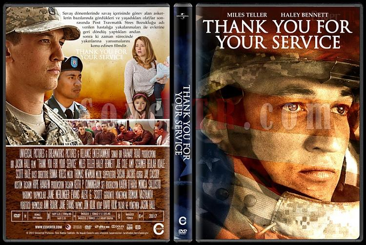 Thank You for Your Service - Custom Dvd Cover - Türkçe [2017]-1jpg