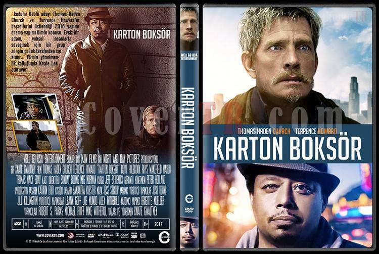 Cardboard Boxer (Karton Boksör) - Custom Dvd Cover - Türkçe [2016]-1jpg