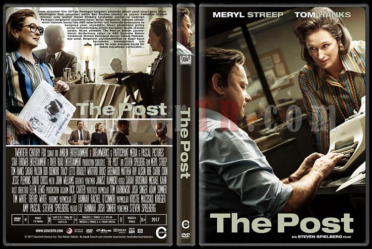 The Post - Custom Dvd Cover - Türkçe [2017]-1jpg