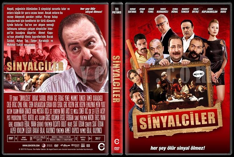 Sinyalciler - Custom Dvd Cover - Türkçe [2017]-1jpg