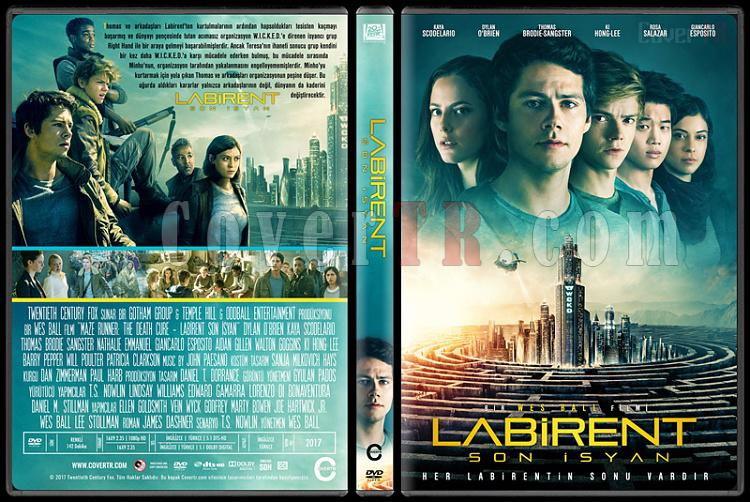 Maze Runner: The Death Cure (Labirent: Son İsyan) - Custom Dvd Cover - Türkçe [2018]-1jpg