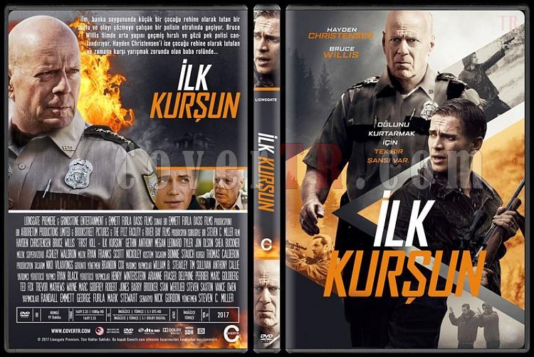 First Kill (İlk Kurşun) - Custom Dvd Cover - Türkçe [2017]-1jpg