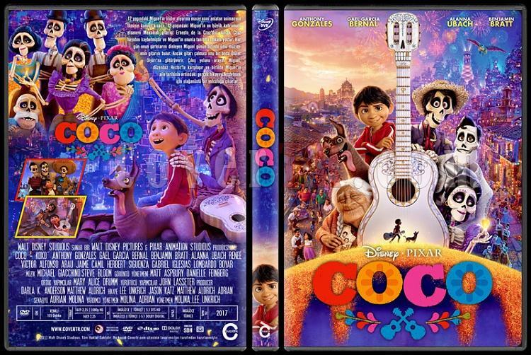 Coco (Koko) - Custom Dvd Cover - Türkçe [2017]-1jpg