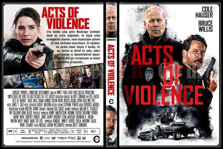 Acts of Violence - Custom Dvd Cover - Türkçe [2017]-1jpg