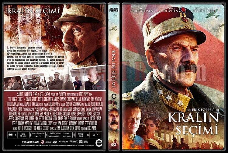The King's Choice - Kongens nei (Kralın Seçimi) - Custom Dvd Cover - Türkçe [2016]-1jpg