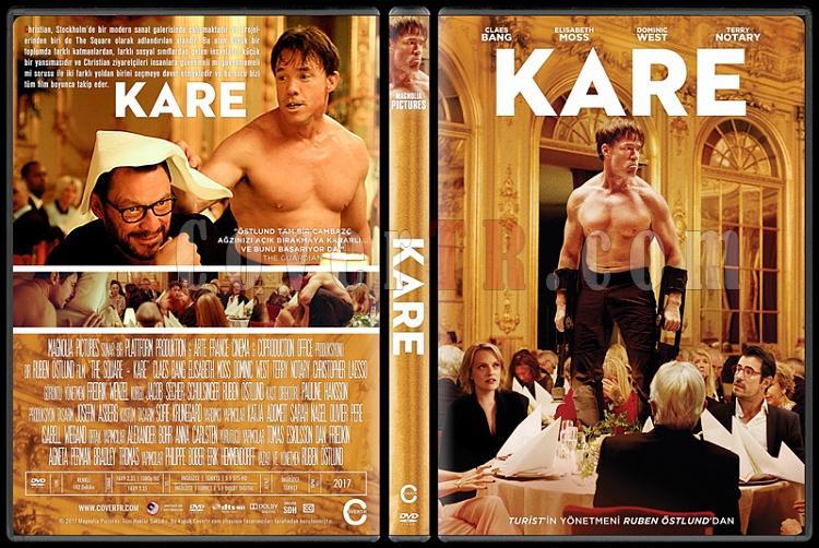 The Square (Kare) - Custom Dvd Cover - Türkçe [2017]-1jpg