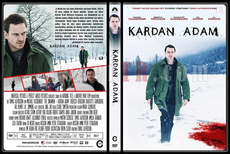 The Snowman (Kardan Adam) - Custom Dvd Cover - Türkçe [2017]-1jpg
