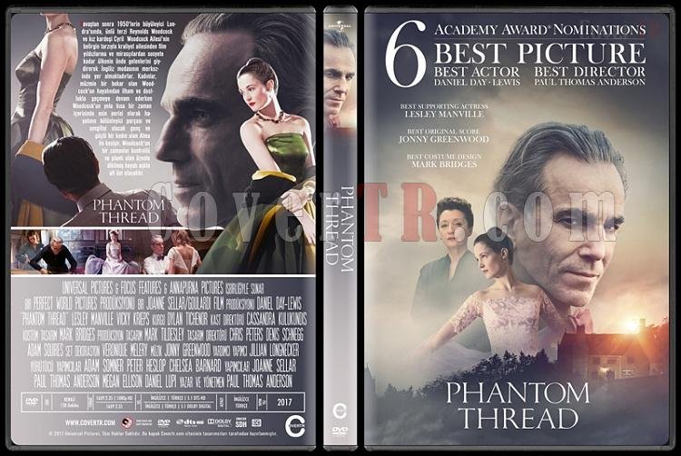 Phantom Thread - Custom Dvd Cover - Türkçe [2017]-1jpg