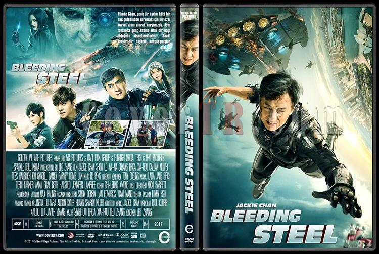 Bleeding Steel - Custom Dvd Cover - Türkçe [2017]-1jpg