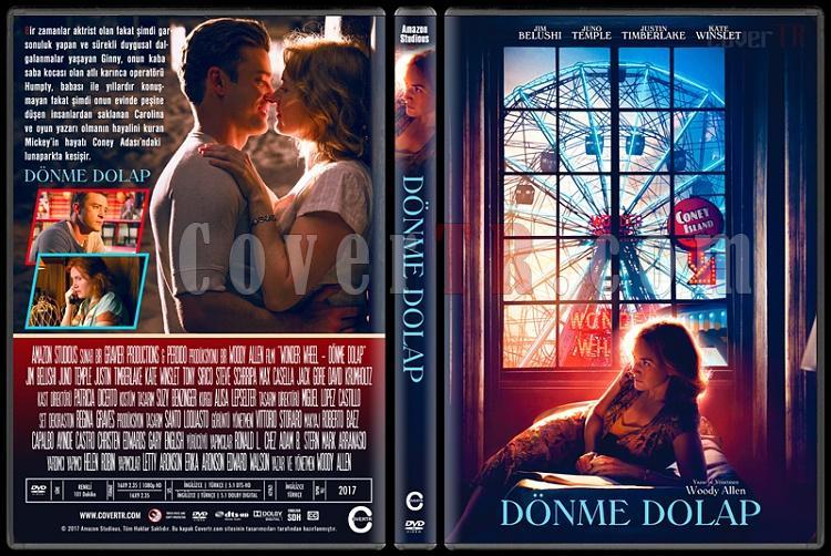 Wonder Wheel (Dönme Dolap) - Custom Dvd Cover - Türkçe [2017]-1jpg