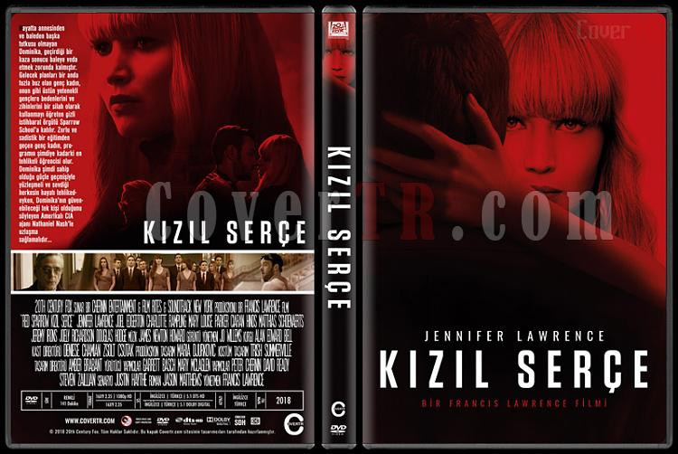 Red Sparrow (Kızıl Serçe) - Custom Dvd Cover - Türkçe [2018]-1jpg