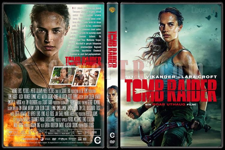 Tomb Raider - Custom Dvd Cover - Türkçe [2018]-1jpg
