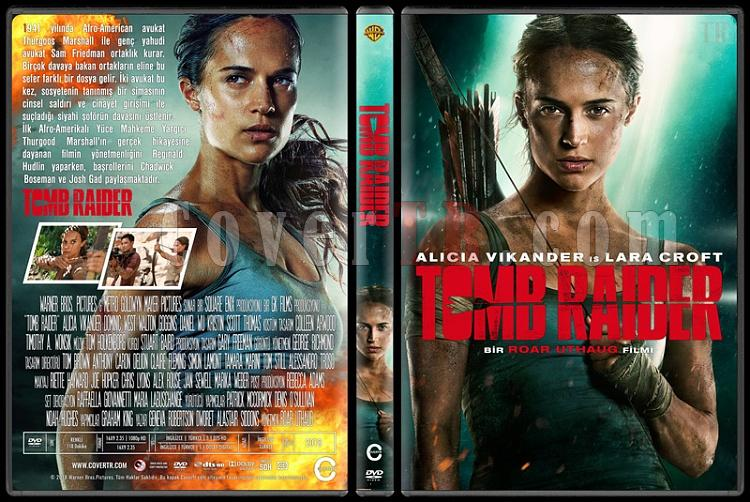 Tomb Raider - Custom Dvd Cover - Türkçe [2018]-2jpg