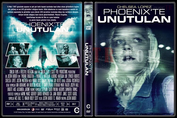 Phoenix Forgotten (Phoenix'te Unutulan) - Custom Dvd Cover - Türkçe [2017]-1jpg