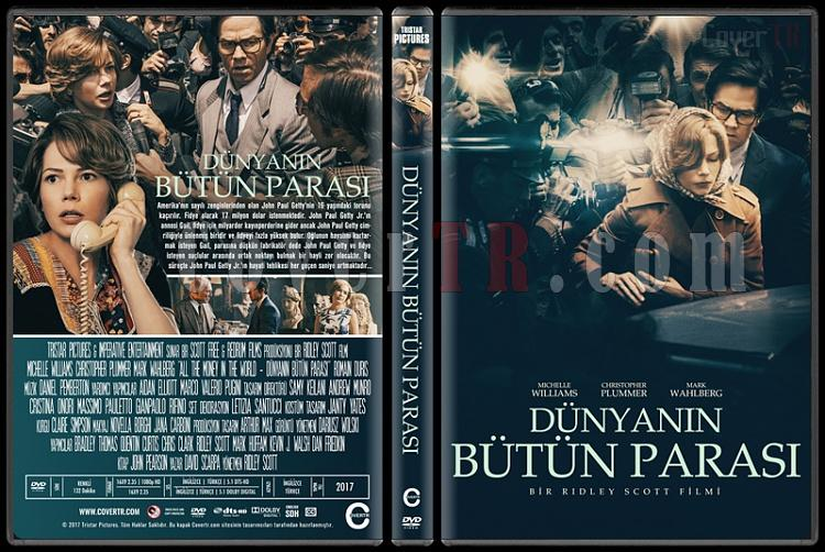 All the Money in the World (Dünyanın Bütün Parası) - Custom Dvd Cover - Türkçe [2017]-1jpg
