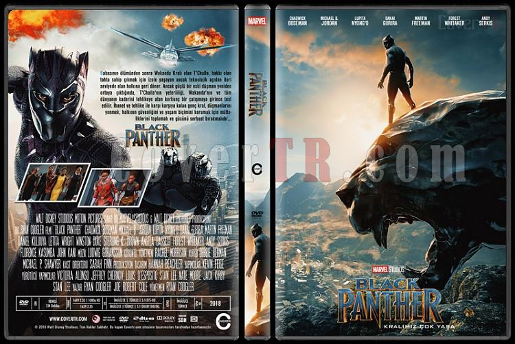 Black Panther (Kara Panter) - Custom Dvd Cover - Türkçe [2018]-1jpg