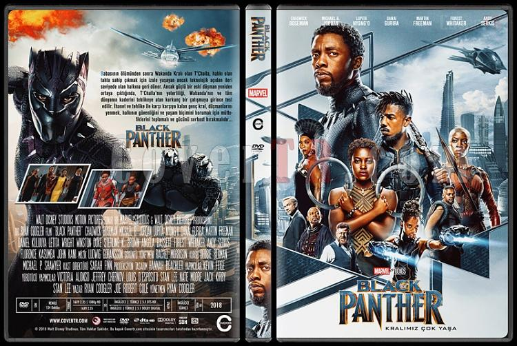 Black Panther (Kara Panter) - Custom Dvd Cover - Türkçe [2018]-2jpg