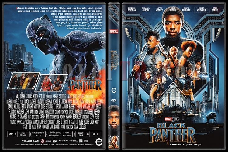 Black Panther (Kara Panter) - Custom Dvd Cover - Türkçe [2018]-4jpg