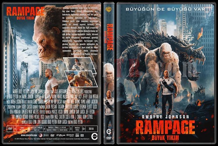 Rampage (Rampage: Büyük Yıkım) - Custom Dvd Cover - Türkçe [2018]-1jpg