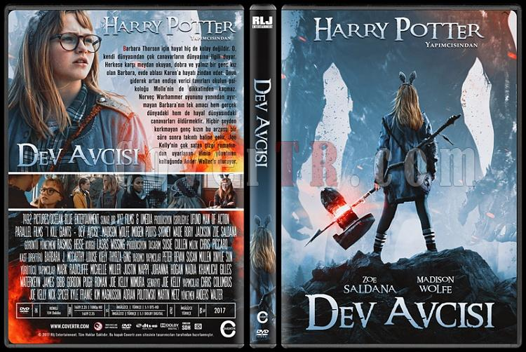 I Kill Giants (Dev Avcısı) - Custom Dvd Cover - Türkçe [2017]-standardjpg