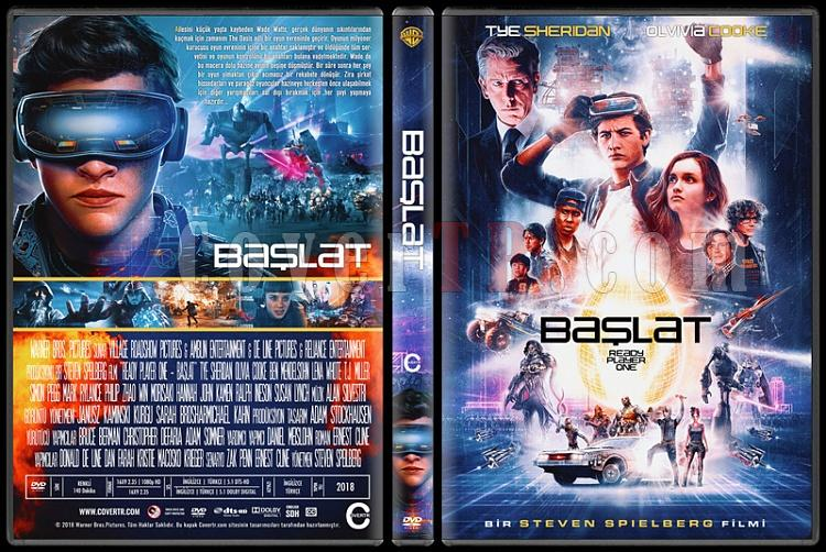 Ready Player One (Başlat) - Custom Dvd Cover - Türkçe [2018]-1jpg