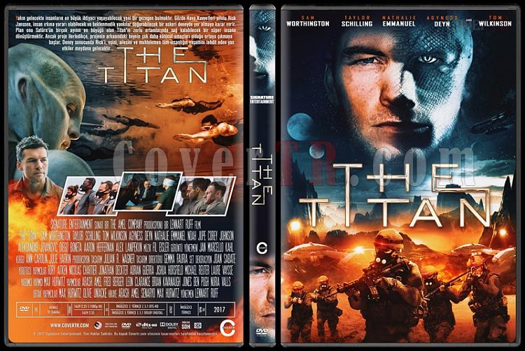 The Titan - Custom Dvd Cover - Türkçe [2018]-1jpg