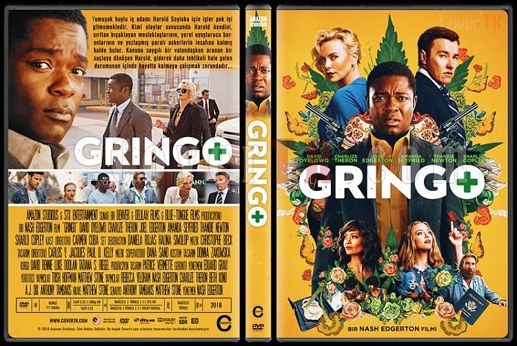 Gringo - Custom Dvd Cover - Türkçe [2018]-1jpg