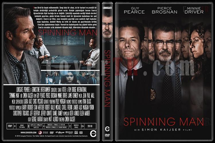 Spinning Man - Custom Dvd Cover - Türkçe [2018]-1jpg