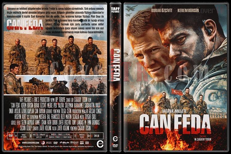 Can Feda - Custom Dvd Cover - Türkçe [2018]-1jpg