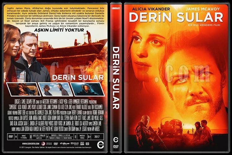 Submergence (Derin Sular) - Custom Dvd Cover - Türkçe [2017]-1jpg