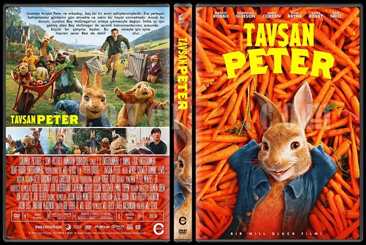 Peter Rabbit (Tavşan Peter) - Custom Dvd Cover - Türkçe [2018]-2jpg