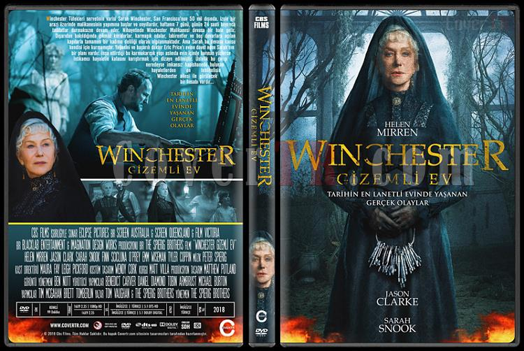 Winchester (Winchester Gizemli Ev) - Custom Dvd Cover - Türkçe [2018]-1jpg