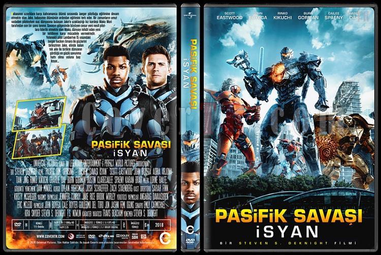 Pacific Rim Uprising (Pasifik Savaşı İsyan) - Custom Dvd Cover - Türkçe [2018]-1jpg