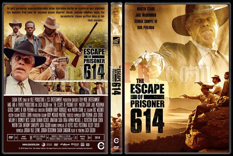 The Escape of Prisoner 614 - Custom Dvd Cover - Türkçe [2018]-1jpg