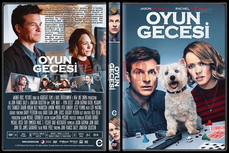Game Night (Oyun Gecesi) - Custom Dvd Cover - Türkçe [2018]-1jpg